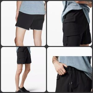 Lululemon Diffract Cargo Shorts The Lab Bl…